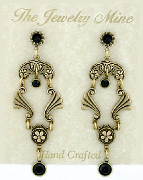 Jewelrymine | Vintage Chandelier Earrings & Bridal Jewelry Wholesale