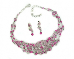 bridal costume jewelry sets,wholesale costume jewelry,wholesale fashion jewelry,bridal choker,victorian austrian crystal choker necklace,rhinestone choker set