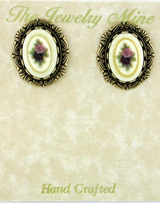 victorian button earrings,antique button earrings,vintage button earrings