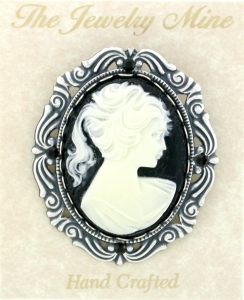 Cameo jewelry vintage cameo jewelry vintage cameo brooch vintage look victorian style cameo costume brooch mozeypictures Choice Image