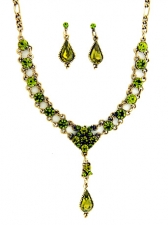 vintage fashion jewelry,victorian necklace set