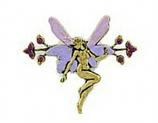 fairy fashion jewelry brooch