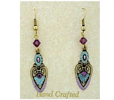 art deco fashion earrings