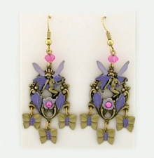 fashion fairy earrings,fairy chandelier earrings