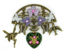antique fashion brooch,vintage fashion brooch,victorian fashion brooch
