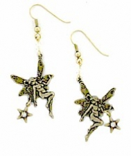 fairy fashion earrings,vintage fairy earrings