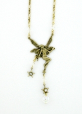 vintage fairy necklace