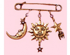celestial fashion charm pin