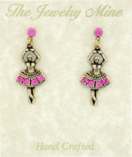 ballerina fashion earrings