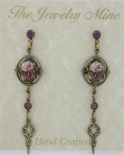 vintage fashion earrings,victorian jewelry