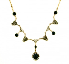 Vintage Look Art Deco Style Necklace