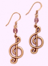 music note earrings,music jewelry,vintage costume jewelry wholesale,vintage fashion jewelry wholesale