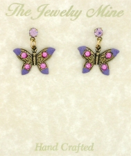 butterfly fashion earrings
