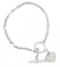 tiffany heart toggle bracelet