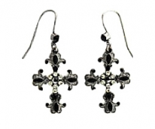 fashion jewelry cross earrings