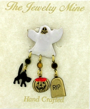 halloween costume fashion brooch